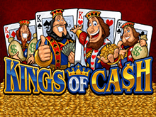 Автомат на деньги Kings Of Cash