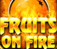 Автомат на деньги Фрукты В Огне